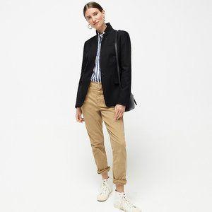 J.Crew Regent Blazer Black Wool Flannel 4